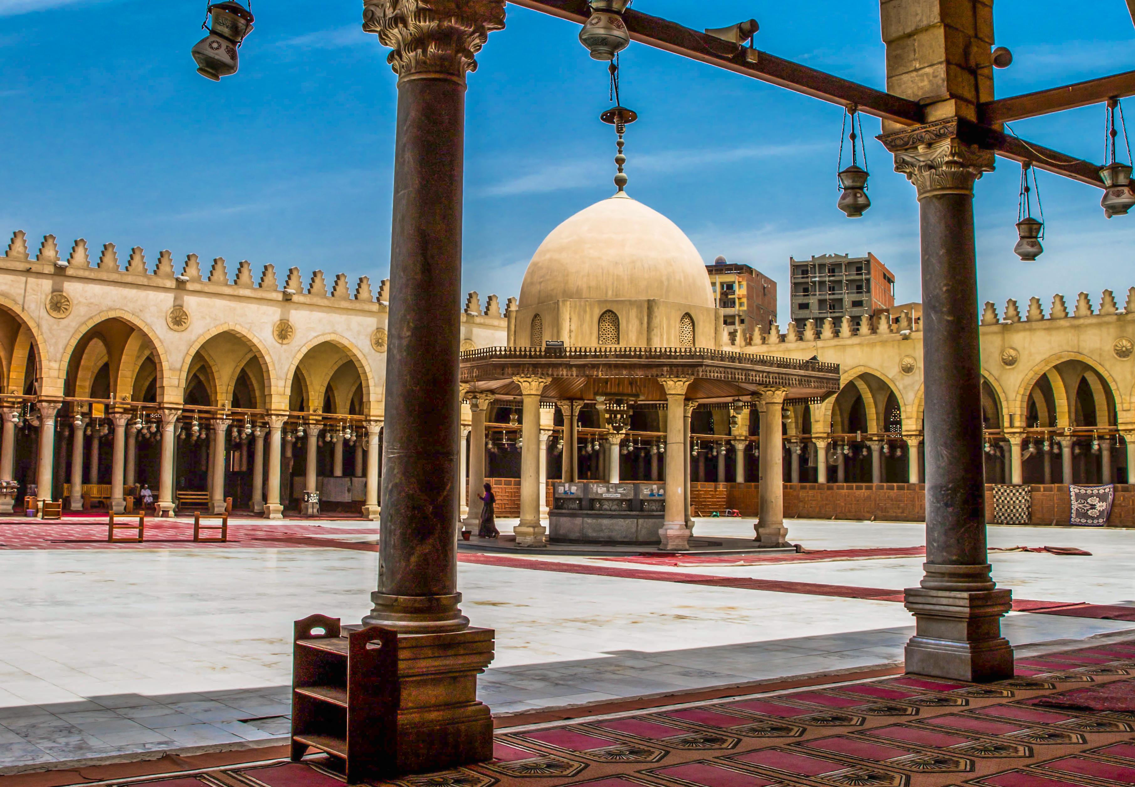 爱资哈尔清真寺  Al-Azhar Mosque   -2