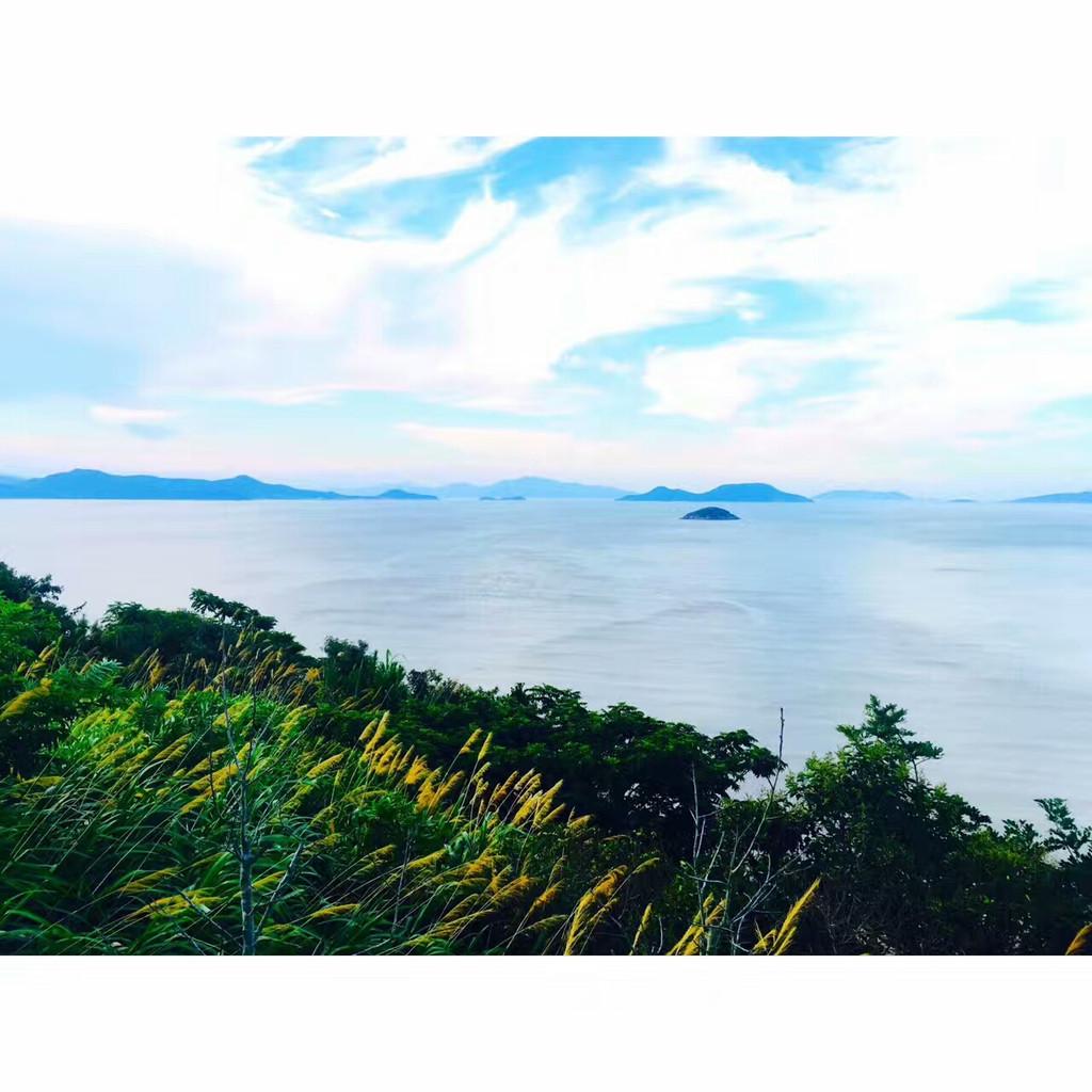 一个风景能秒杀电脑壁纸的新景区——宁波东海半边山风景区