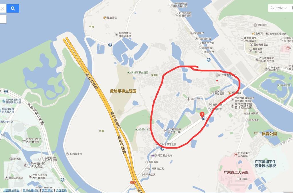 摩拜单车带我一个人吹风游广州长洲岛和深井古村(未完