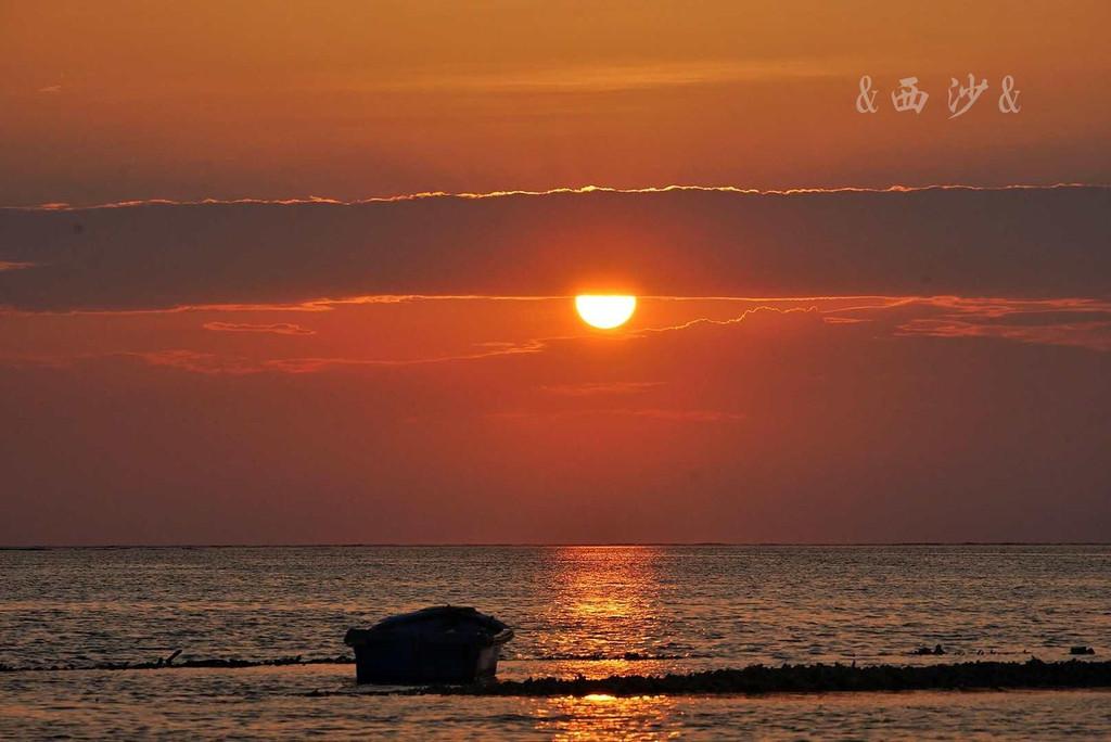 带大海风景的早安图片