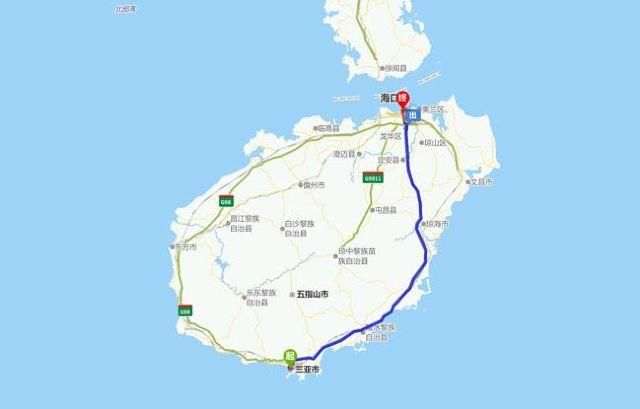 哈尔滨到海口 距离:3913公里