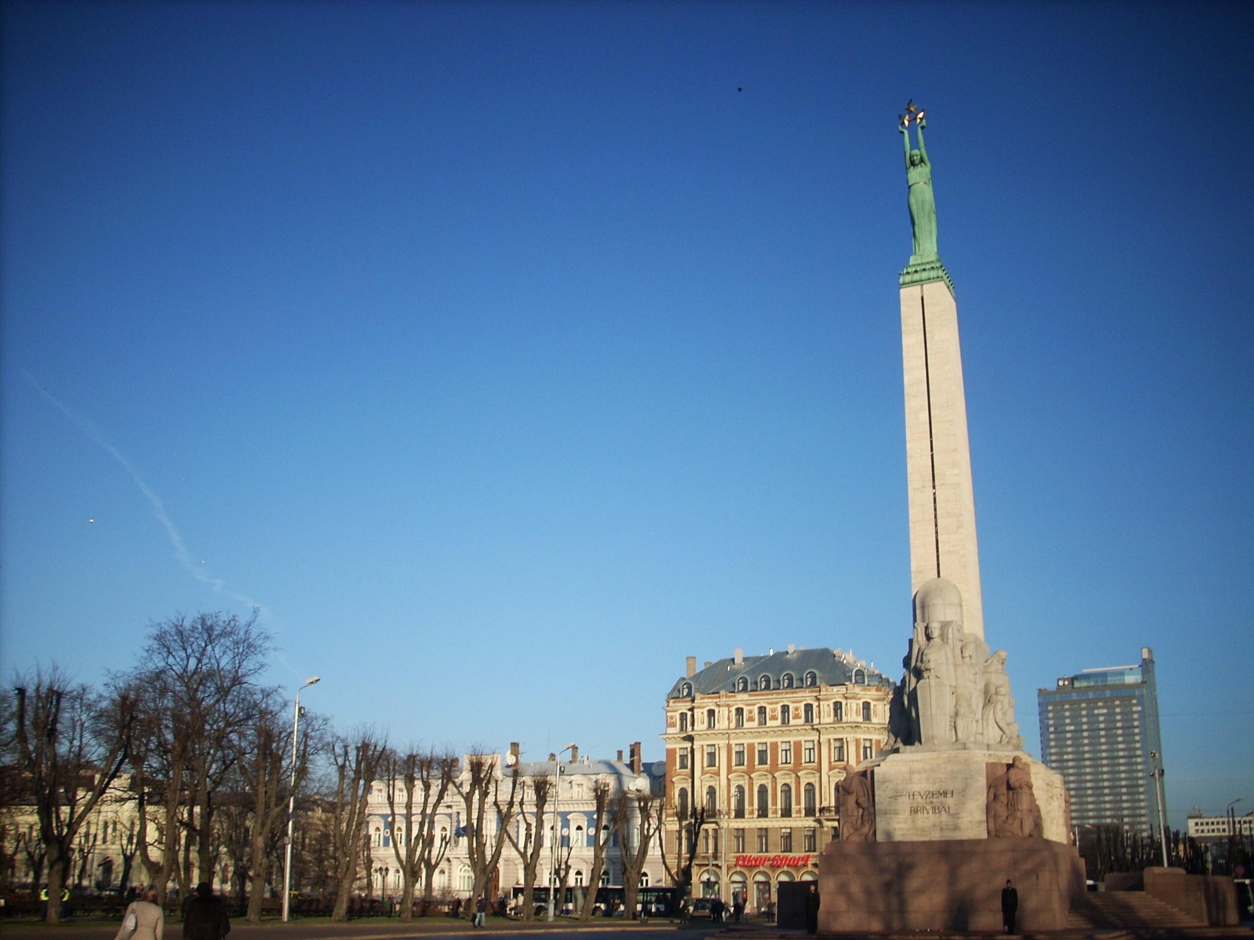 自由紀念碑  Brīvības Piemineklis   -1