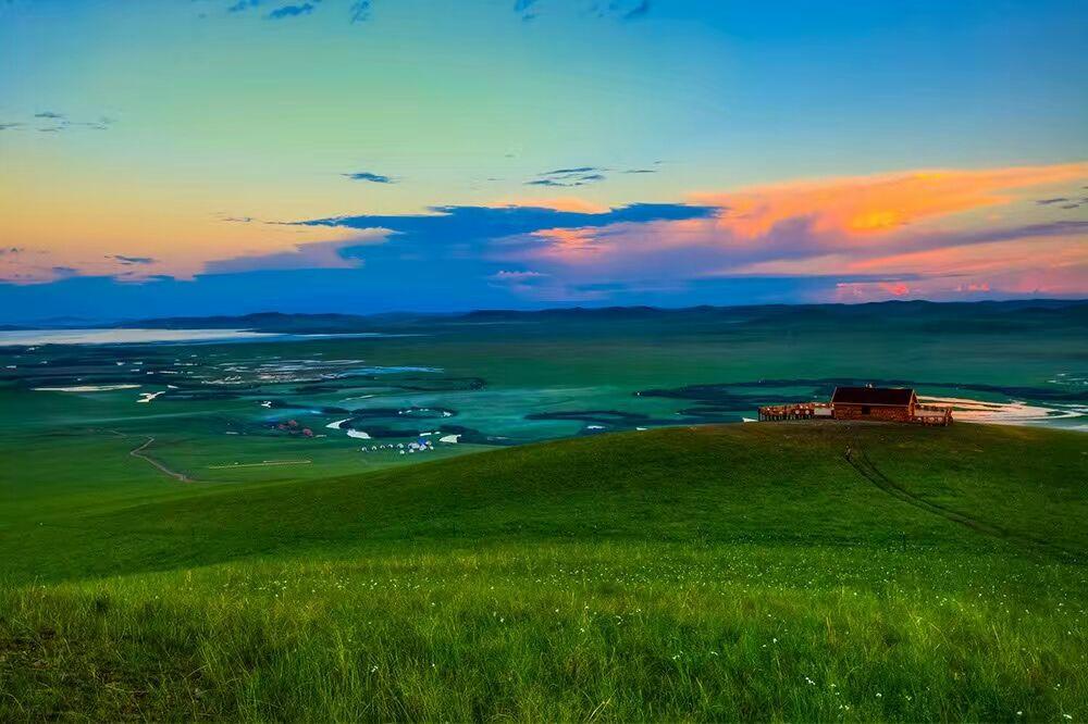 天边大草原,纯美乌拉盖
