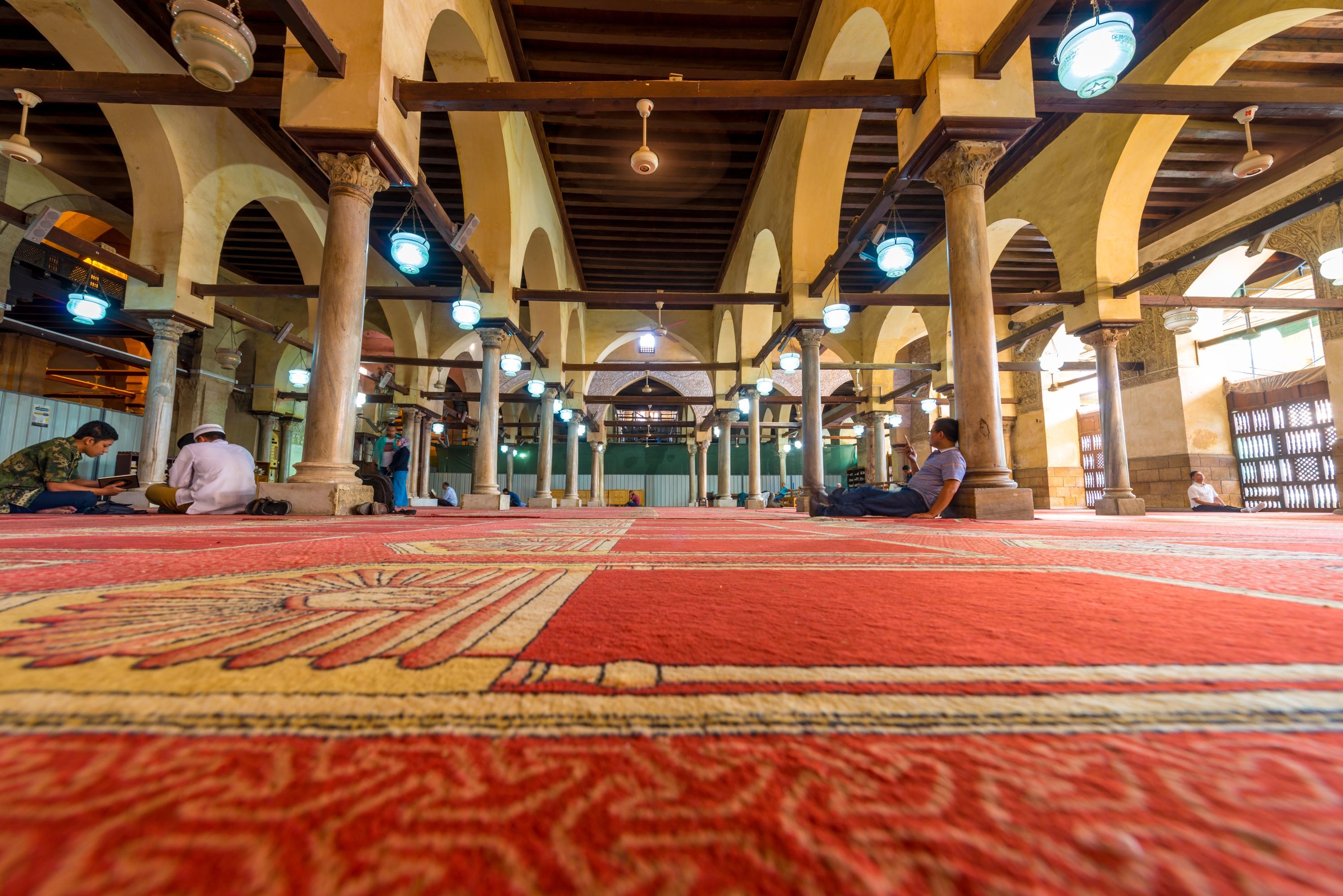 爱资哈尔清真寺  Al-Azhar Mosque   -1