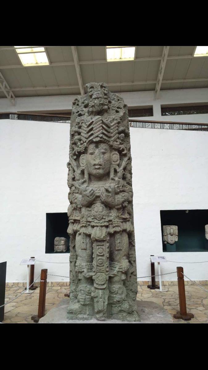 科潘石刻博物馆  Museum of Sculpture   -0