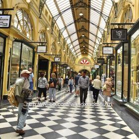 布洛克拱廊 block arcade图片