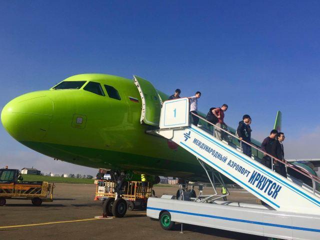 还是要表扬西伯利亚航空起降稳妥!