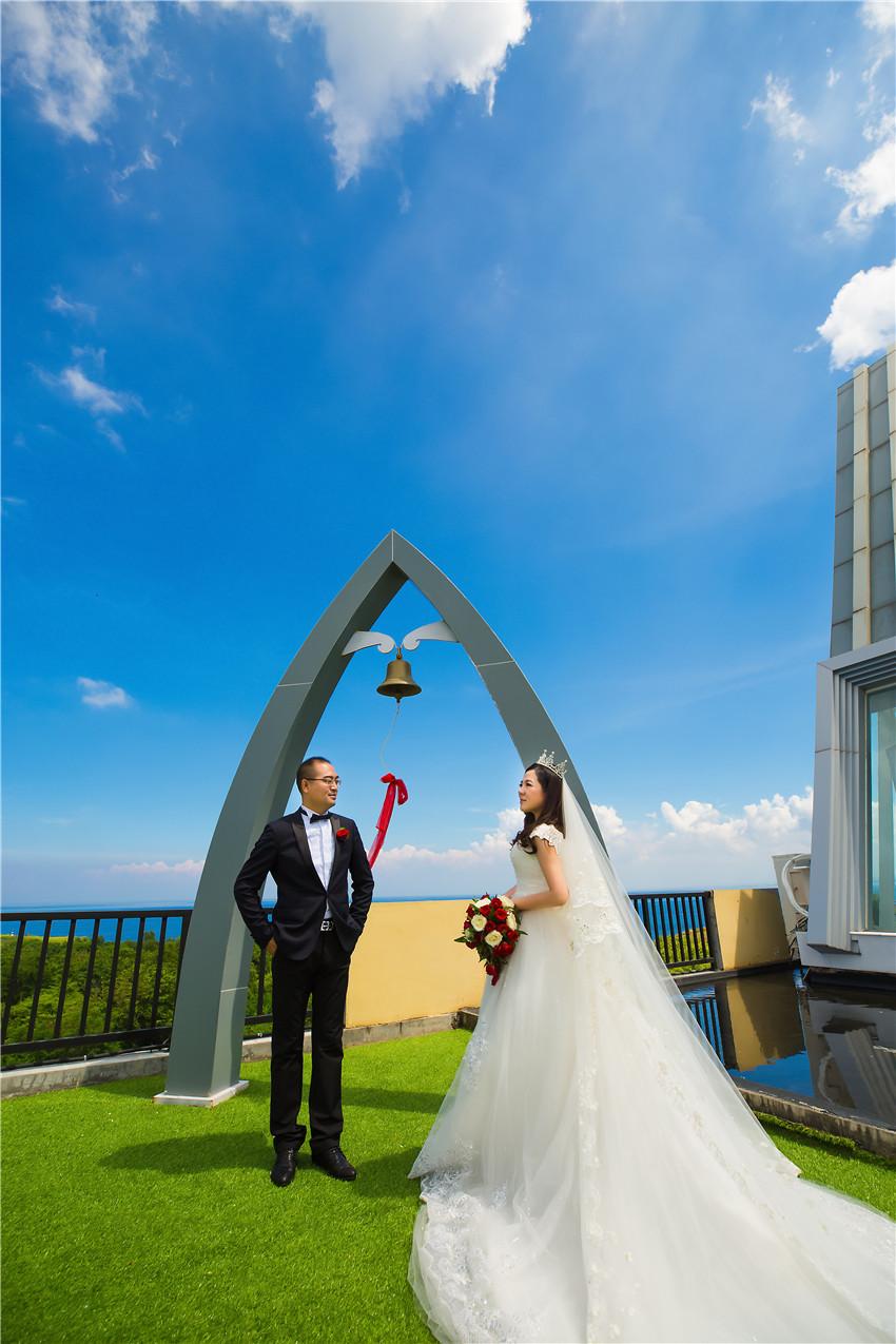 巴厘岛天空教堂婚礼分享