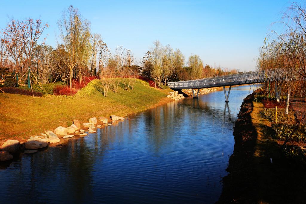 双鹤湖中央公园:向城而生 心归田园 - 郑州游记攻略