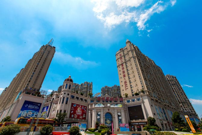 句容碧桂园凤凰城酒店(南京) 金洋宝贝城位于碧桂园欢乐城一,二层