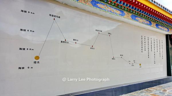 林拉公路是一条几乎全封闭的高等级公路,走向上与原来的318国道(川藏公路,又叫沪聂线)平行,拉萨至工布江达段沿拉萨河向东跨越米拉山脉,然后在工布江达开始沿着尼洋河谷抵达林芝(八一镇)。 目前两端沿河段均已通车(200公里),墨竹工卡至工布江达的登山段尚在建设中。所以开小轿车的车主朋友要注意了,迄今为止雨季过米拉山仍然很痛苦哈! 米拉山是雅鲁藏布江谷地东西两侧地貌、植被和气候的重要界山,既是拉萨河水系与尼洋河水系的分水岭,也是林芝地区海洋性气候与拉萨地区内陆性气候的分界线,米拉山以西地区,干燥寒冷,阳光普