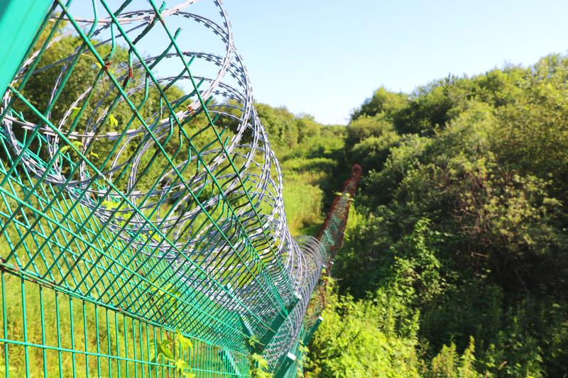 珲春防川风景区俄朝边境