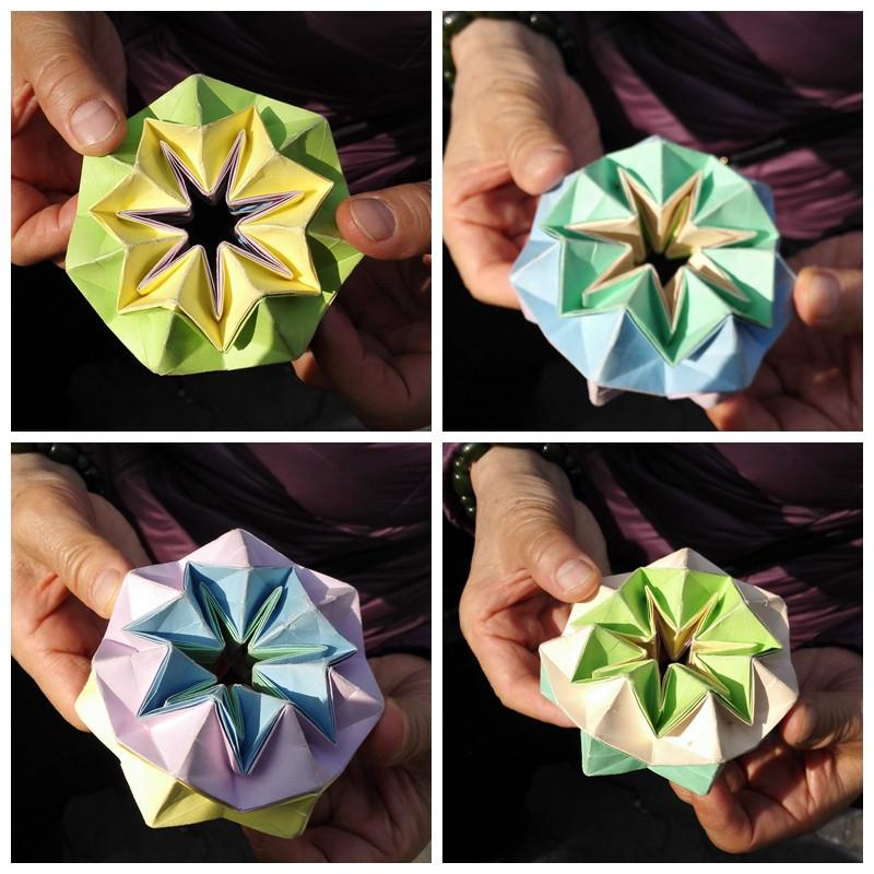 翻花折纸步骤图