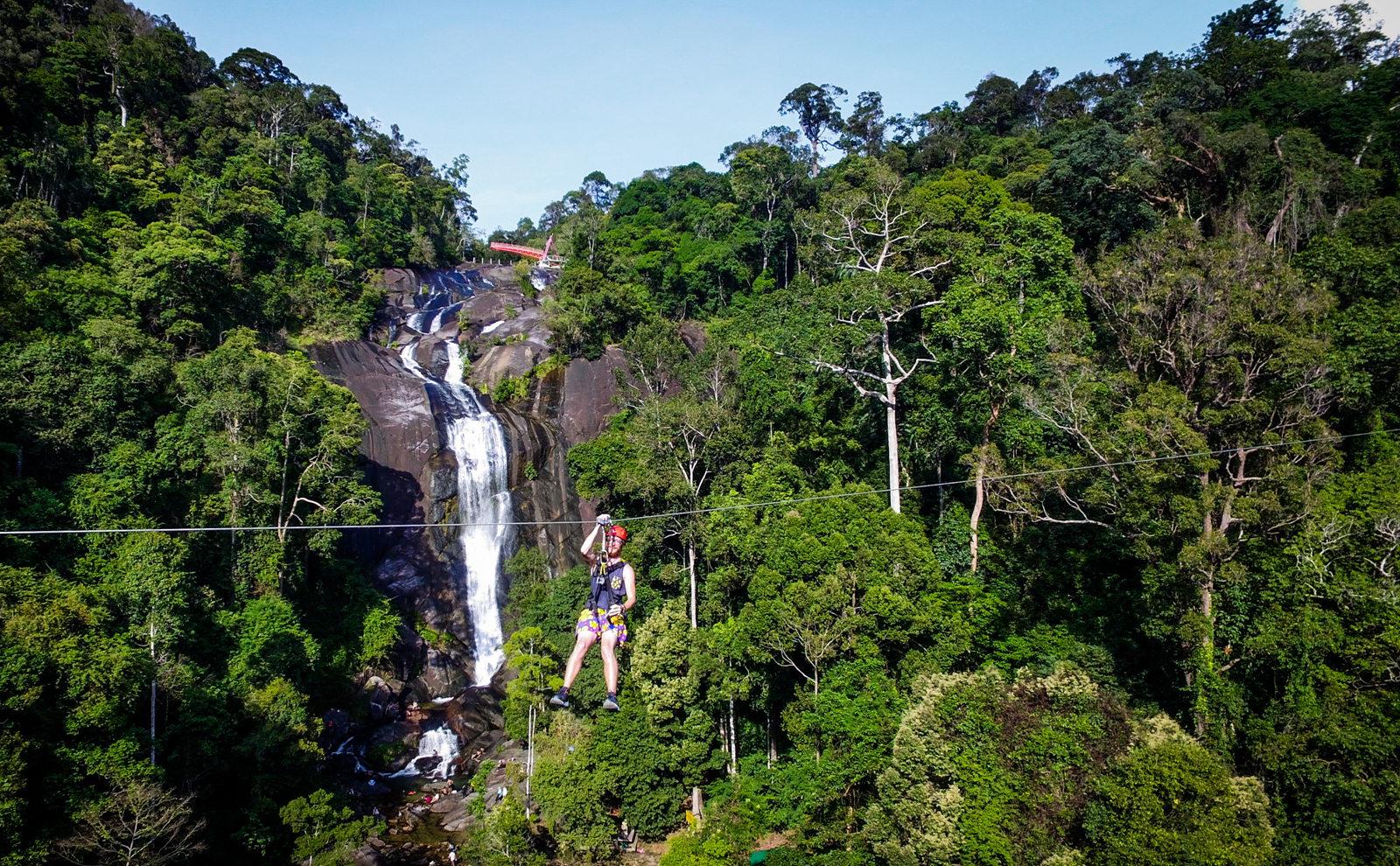 兰卡威umgawa丛林飞跃图片