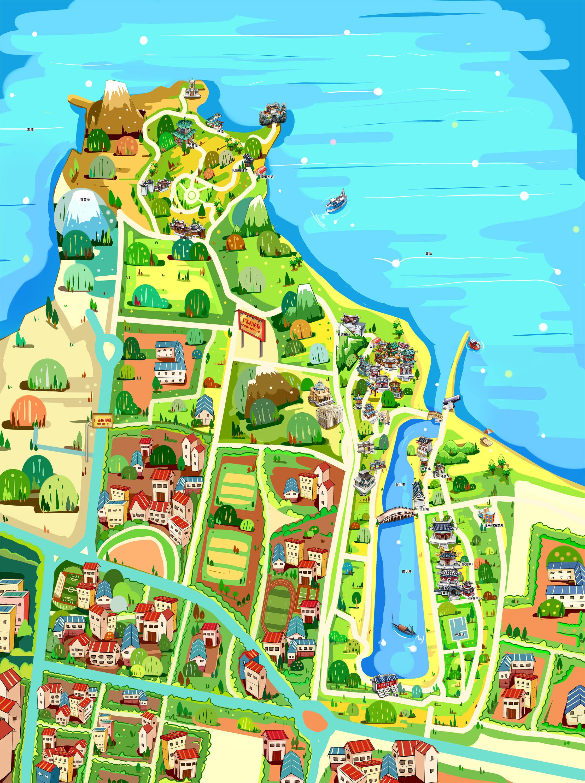 蓬莱阁风景区手机导游【全景地图,园内导航,线路推荐