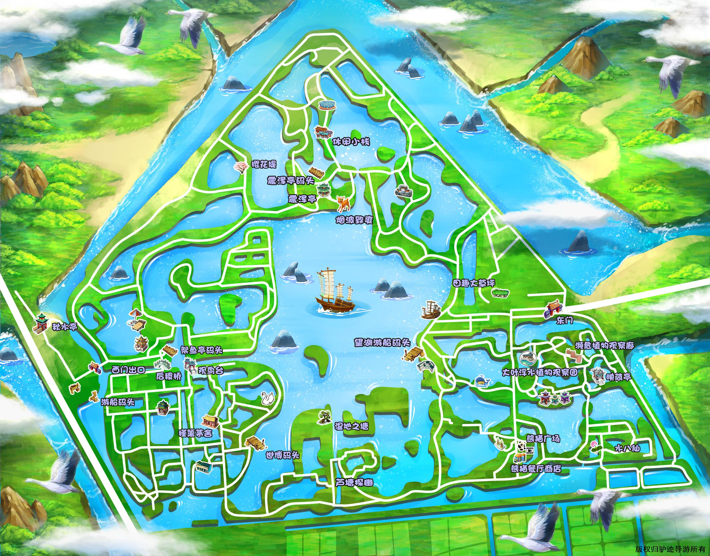 苏州太湖国家湿地公园手机导游【全景地图,园内导航,线路推荐,自动