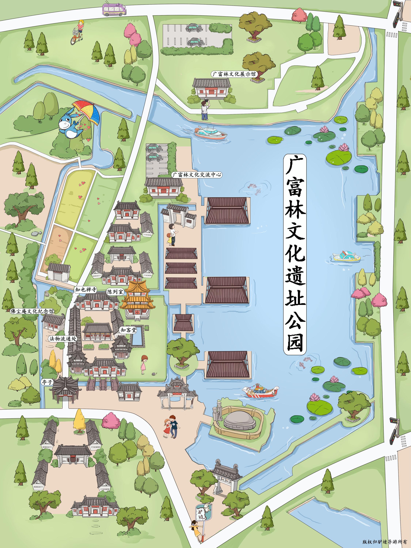 广富林遗址公园手机导游【全景地图,园内导航,线路推荐,自动讲解】