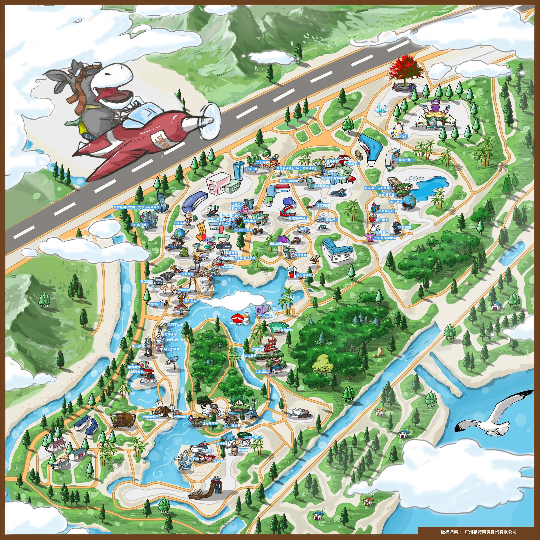 武汉欢乐谷手机导游【全景地图,园内导航,线路推荐,自动讲解】图片