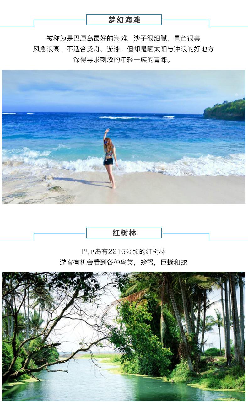 印度尼西亚蓝梦岛 恶魔的眼泪 蘑菇海滩一日游【海鸟旅游 蓝梦岛一