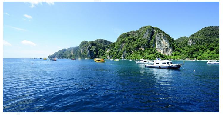泰国普吉岛鸡蛋岛三个蛋岛 浮潜快艇一日游【khai nui