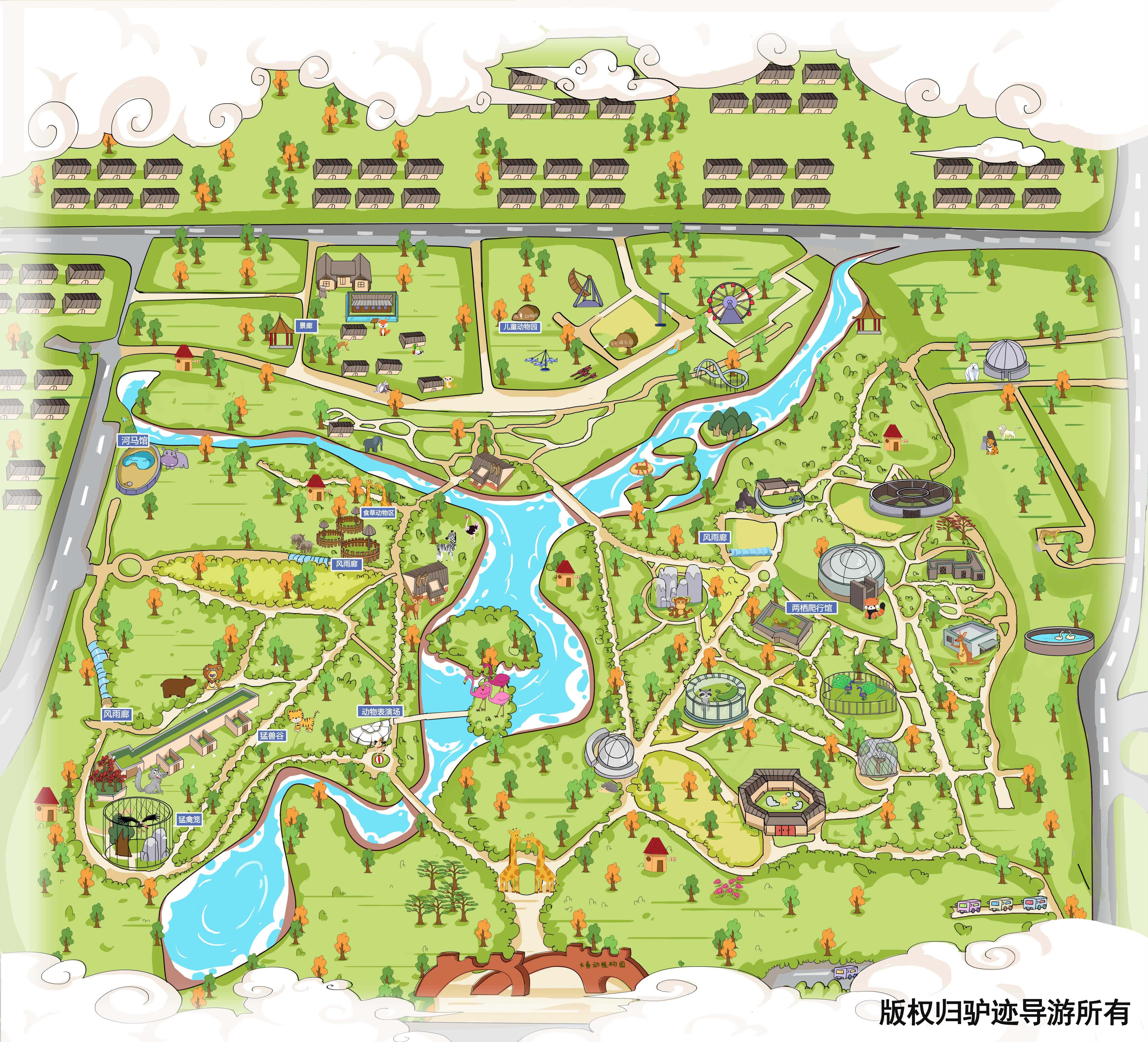 长春动植物园手机导游【全景地图,园内导航,线路推荐