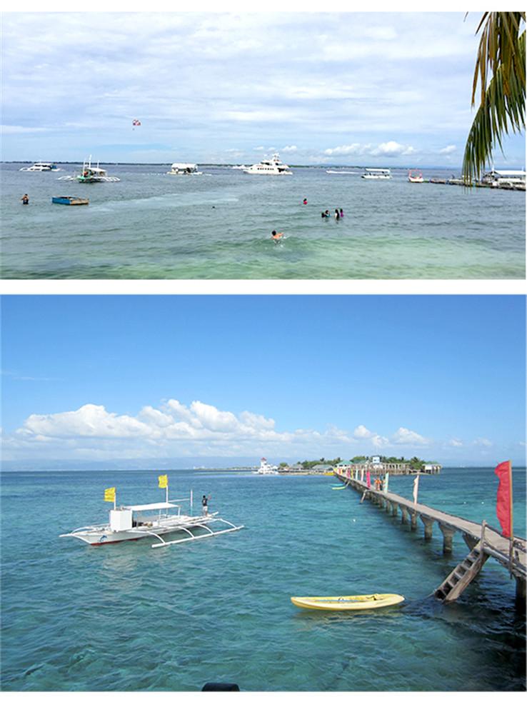 菲律宾宿务资生堂岛娜鲁苏安浮潜跳岛一日游【观赏海岛风光 浮潜珊瑚