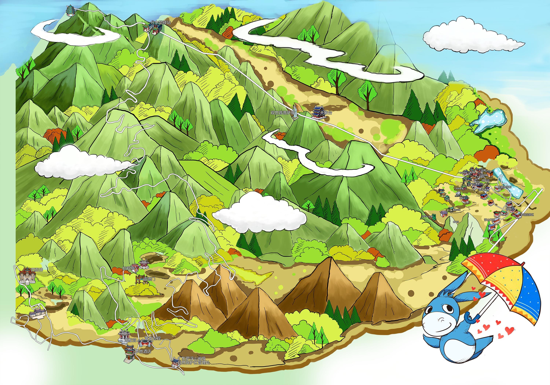 惠州罗浮山风景区手机导游【全景地图,园内导航,线路推荐,自动讲解】