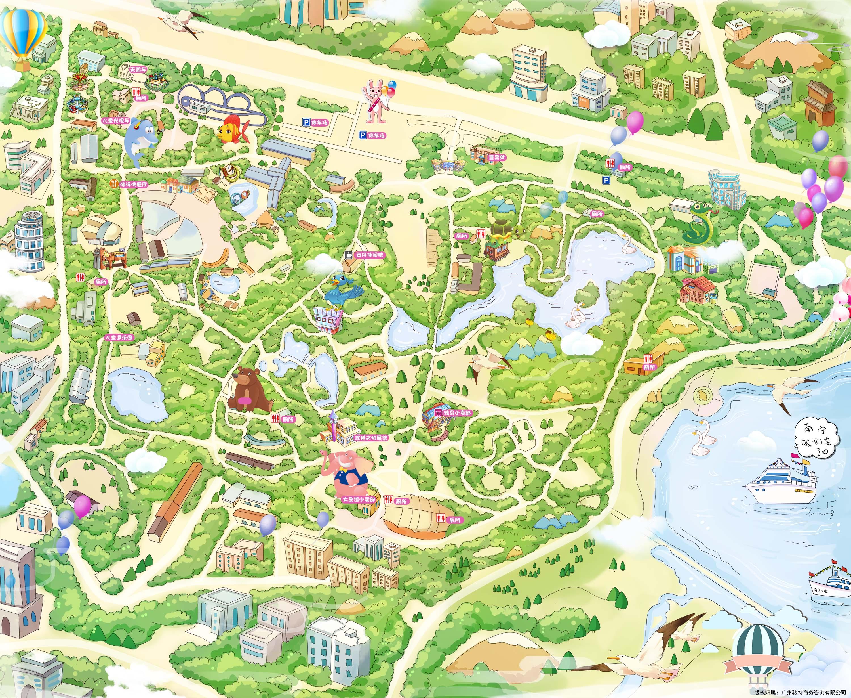 南宁动物园手机导游【全景地图,园内导航,线路推荐,自动讲解】