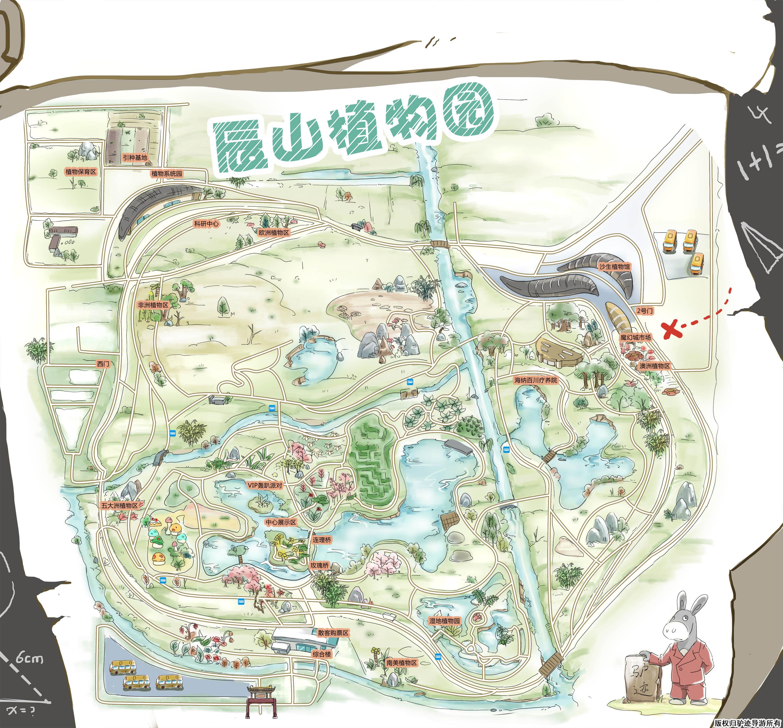 上海辰山植物园手机导游【全景地图,园内导航,线路推荐,自动讲解】