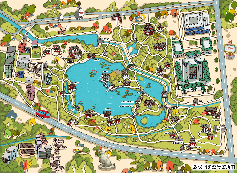 紫竹院公园手机导游【全景地图,园内导航,线路推荐,自动讲解】
