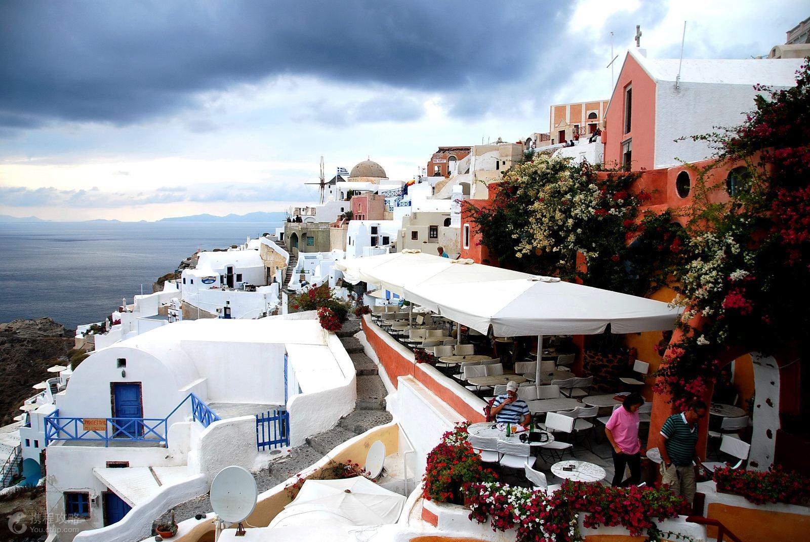 希腊雅典+圣托里尼+米科诺斯岛9日跟团游(4钻)·25人