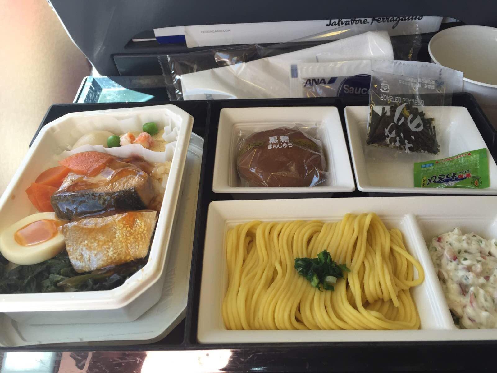 全日空的飞机餐