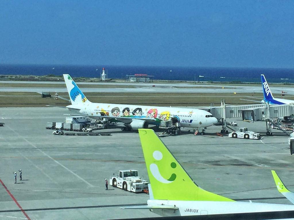 全日空的卡通涂装飞机