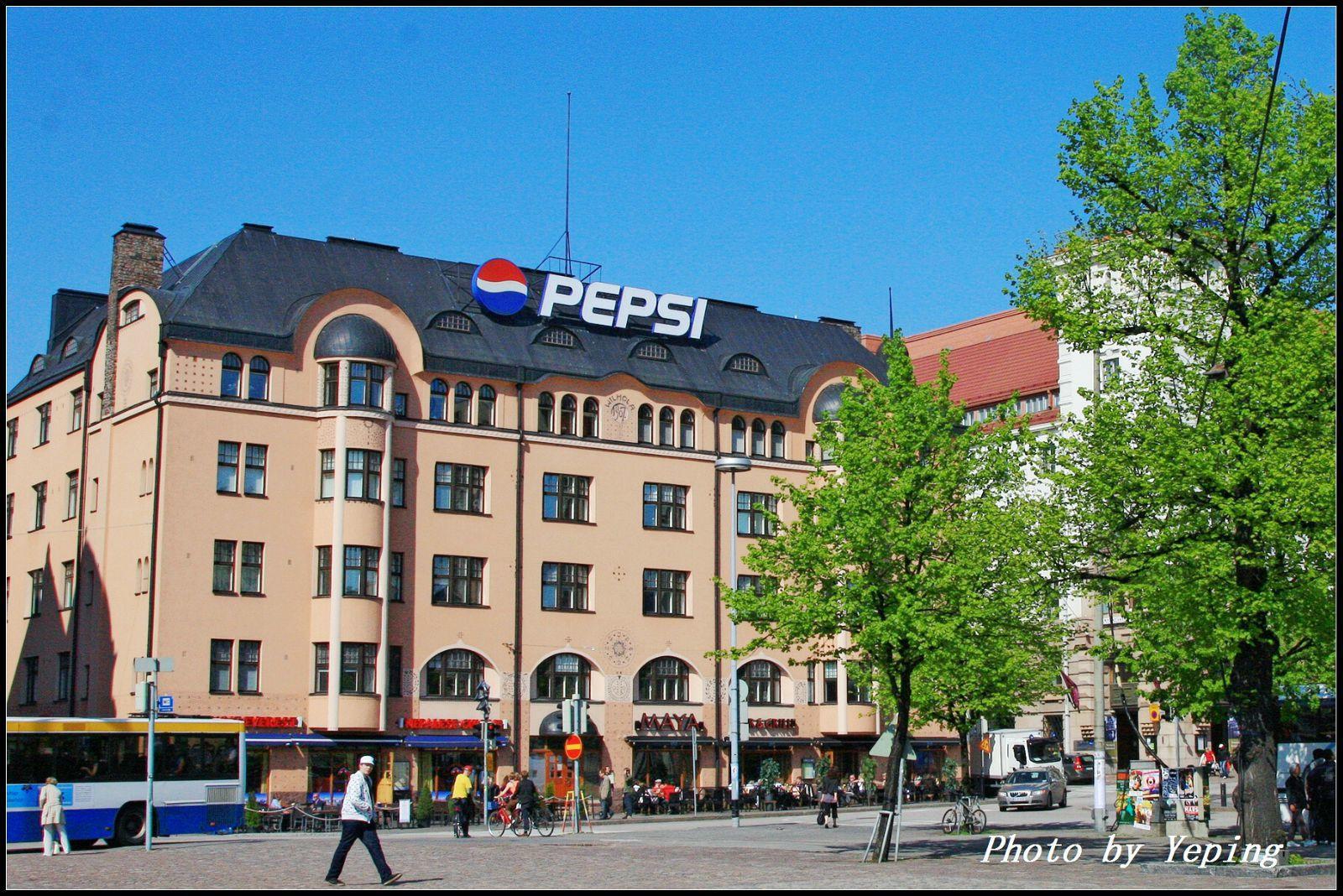 赫尔辛基中央火车站广场
