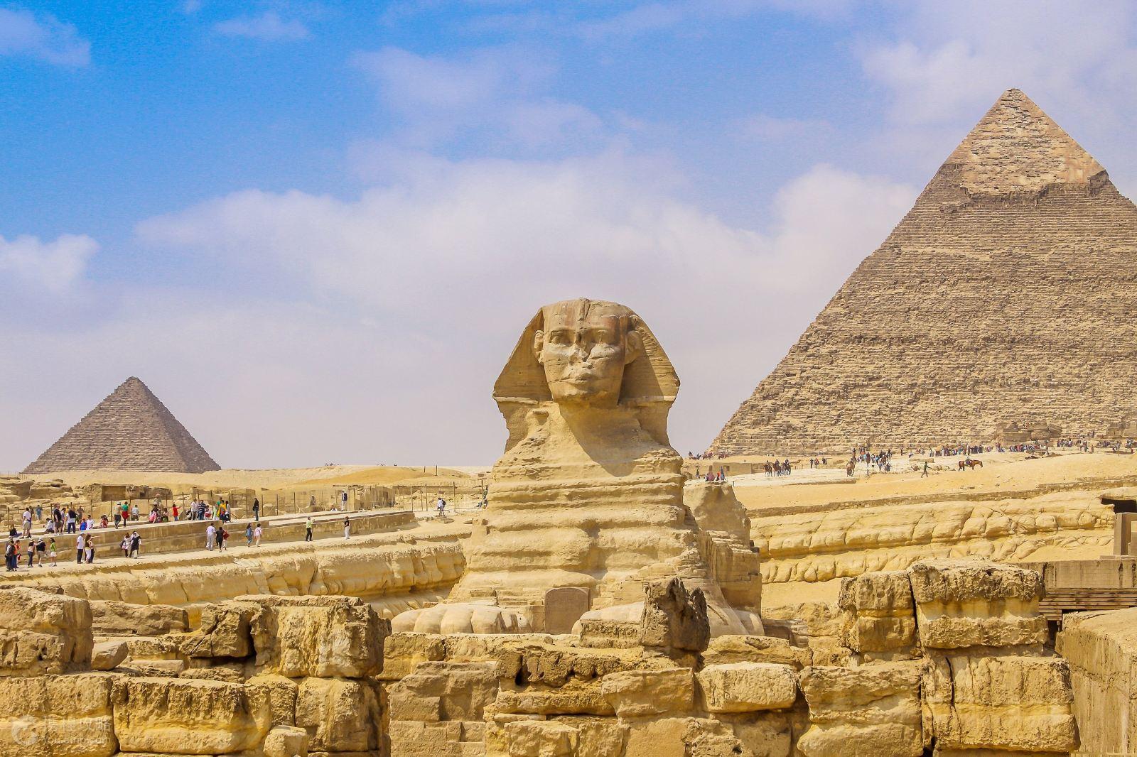 金字塔+狮身人面像