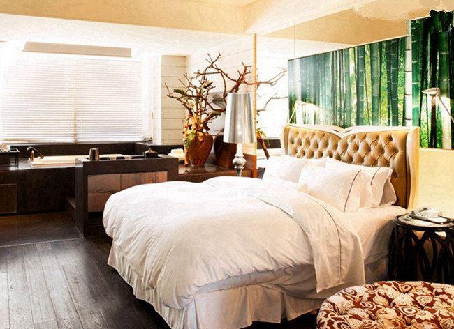 入住欧式乡村特色酒店,睡特色圆床,看免费电影
