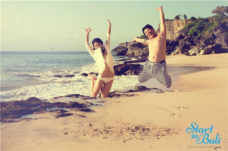 巴厘岛旅游蜜月婚纱照