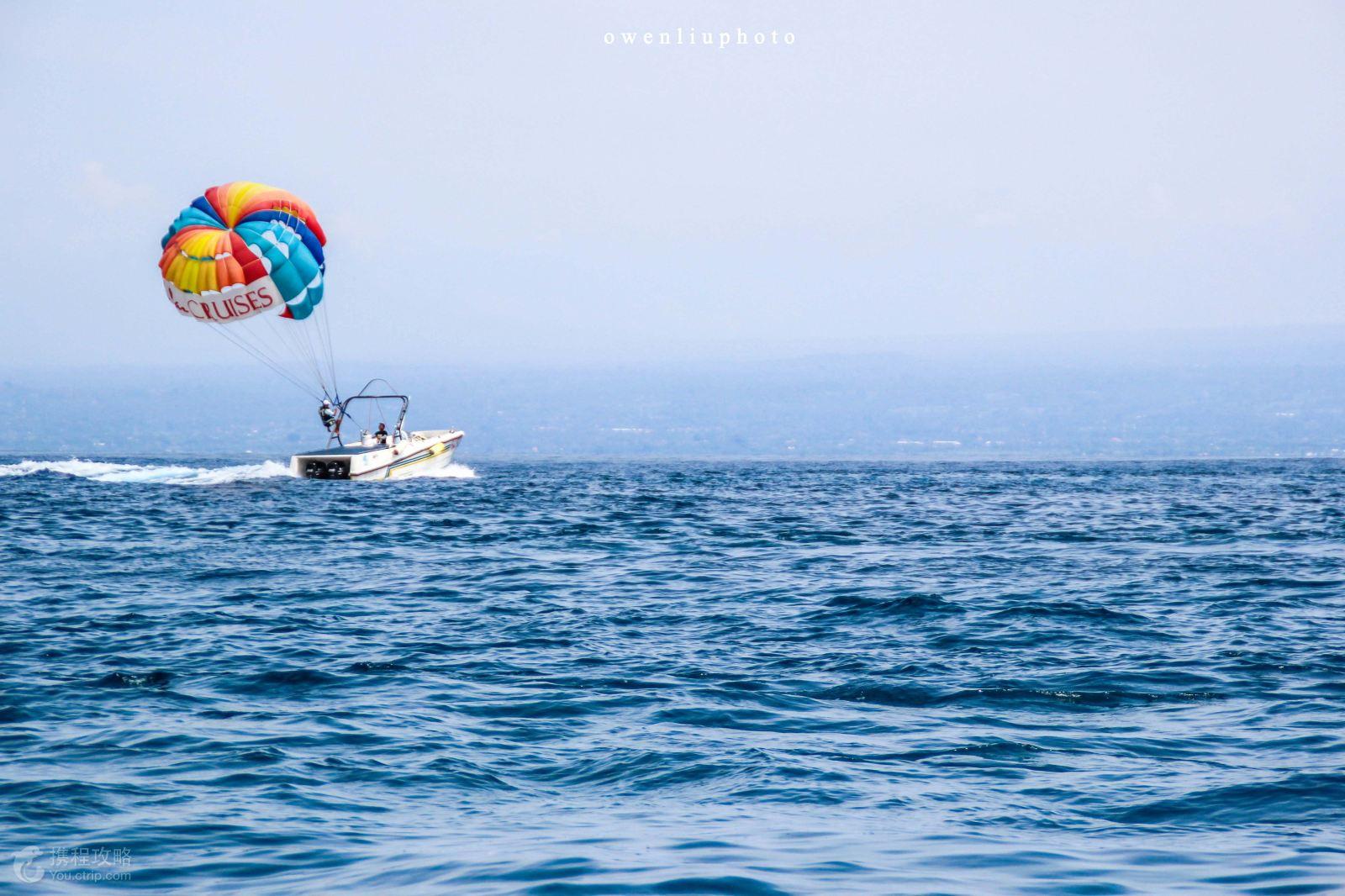 香蕉船+橡皮艇等项目【蓝梦岛】蓝梦岛面积不大