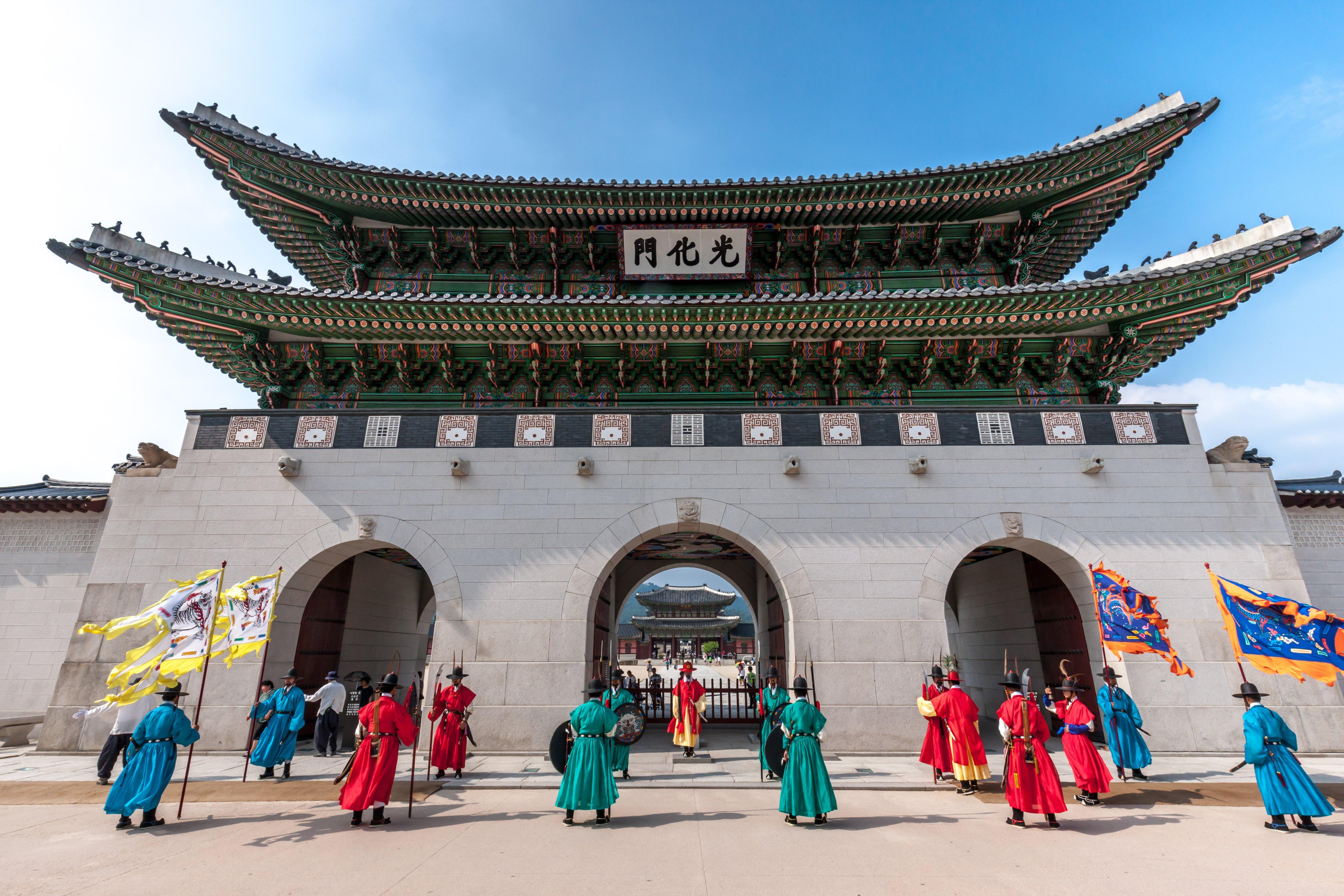 景福宫  Gyeongbokgung Palace   -1
