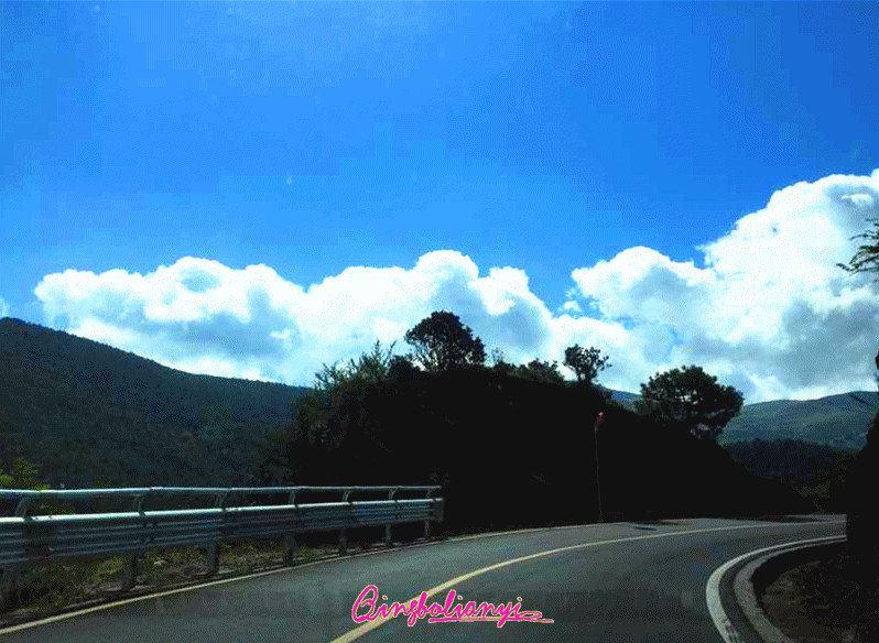 s307省道(西昌—盐源—泸沽湖)沿途风景—莫言先生的