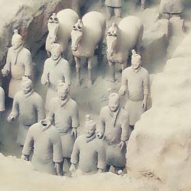 专享 奔驰出行】西安兵马俑+陕西历史博物馆+