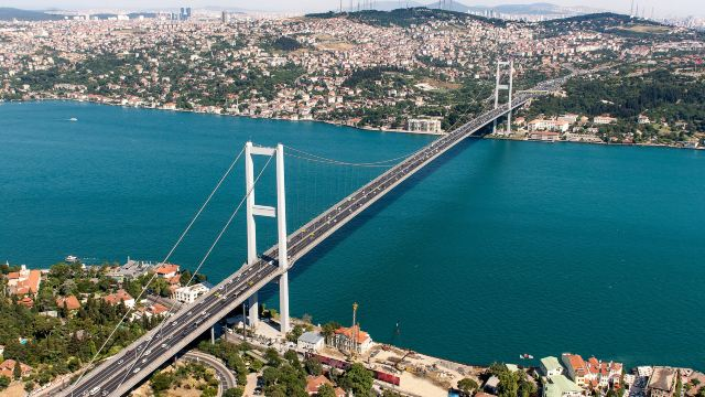 博斯普鲁斯大桥门票,伊斯坦布尔博斯普鲁斯大桥攻略图片