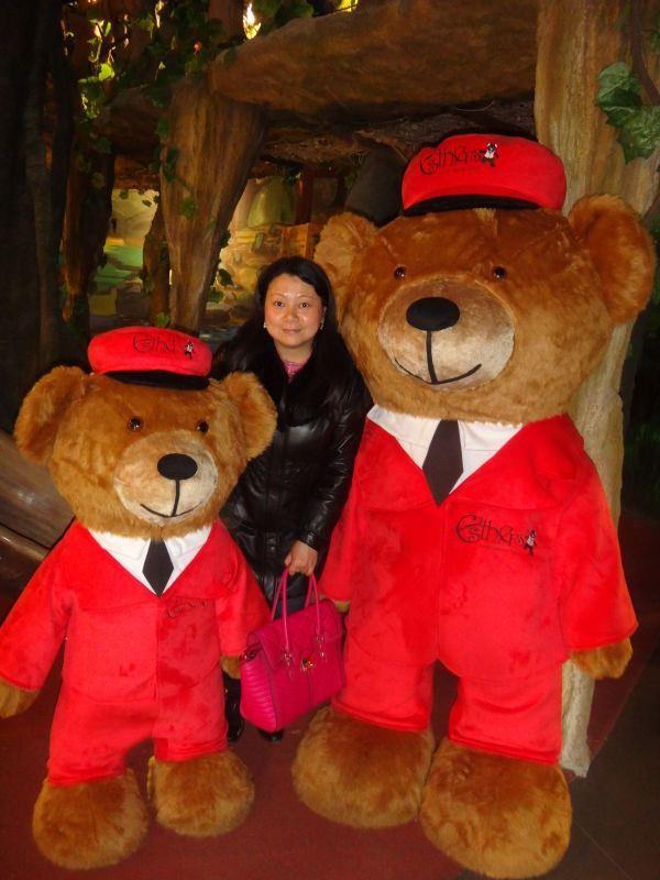 可爱泰迪熊(三)