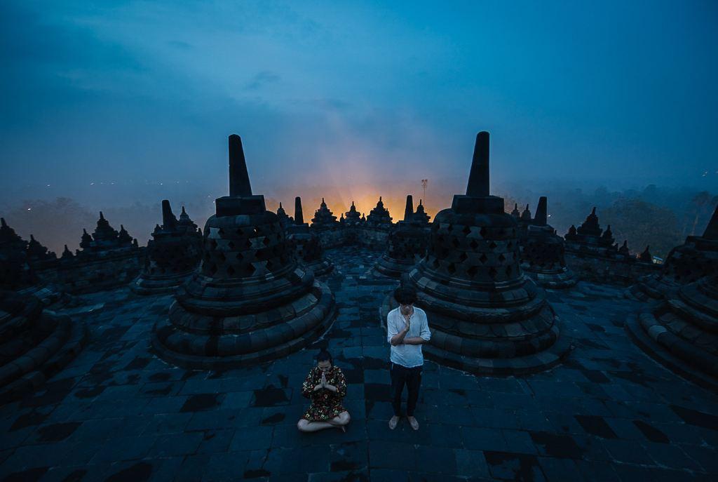 印尼爪哇岛情侣8日自由行【寻找心目中的三圣山】
