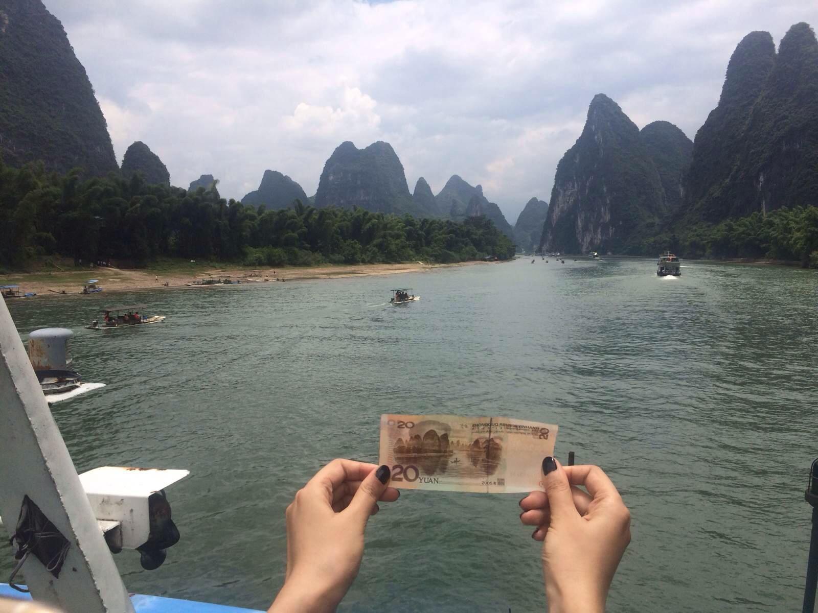 桂林风景桂林山水画桂林山水图片