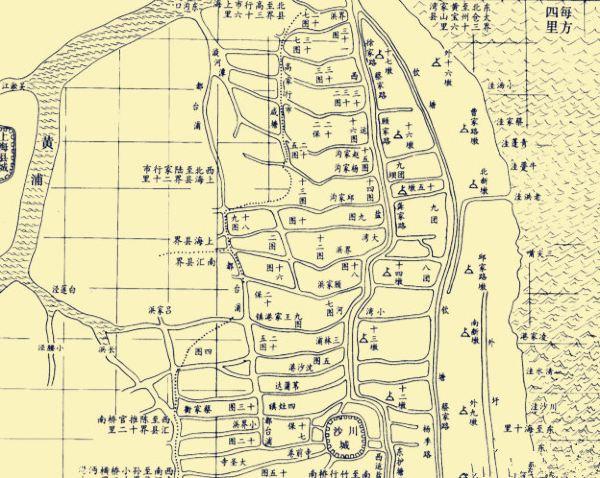 上海川沙中学丁丁地图