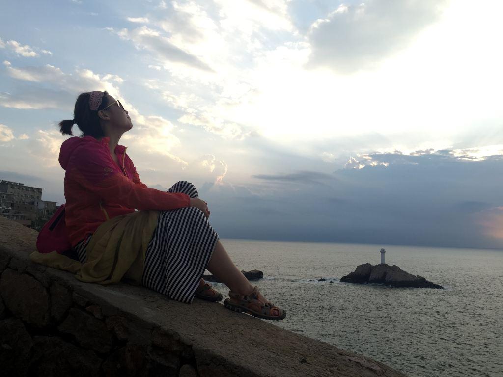 海天佛国普陀山,东极岛眺望第一缕极光