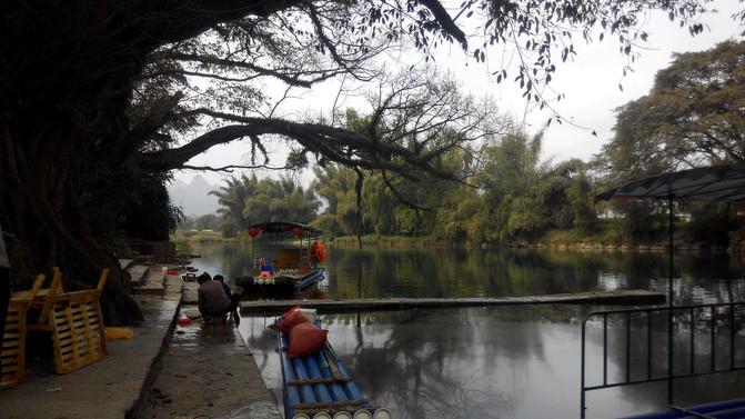 免费原生态旅游的好地方:广西柳州鹿寨中渡古镇