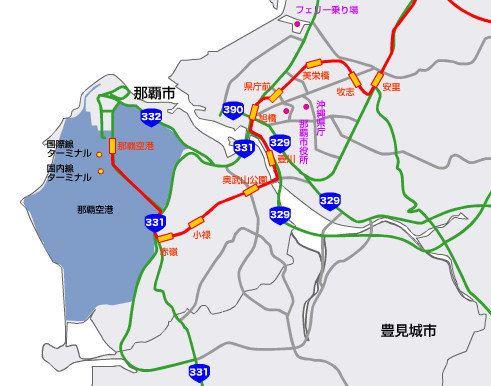 冲绳yui rail线路图