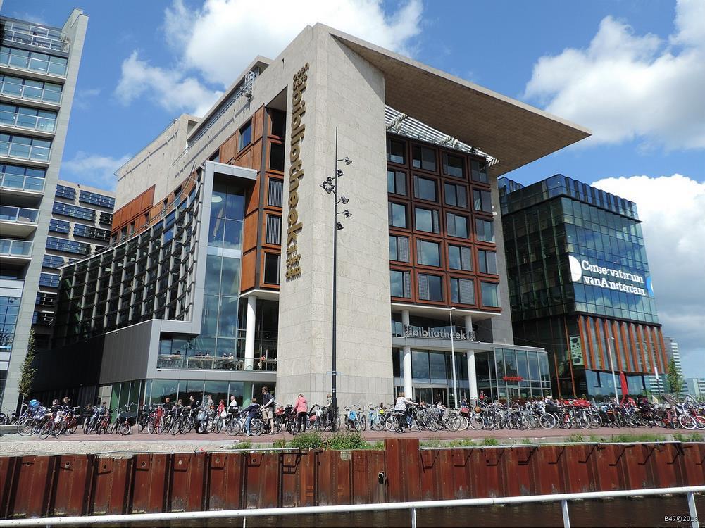 阿姆斯特丹中央图书馆  Central Library   -4